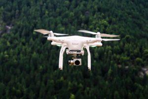 réaliser une vidéo d'entreprise par un drône